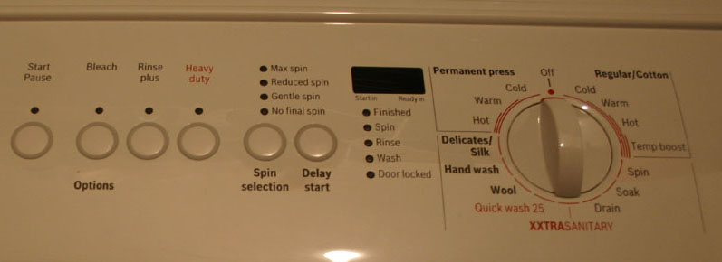 Bosch Nexxt 500 Washer And E04 Solution