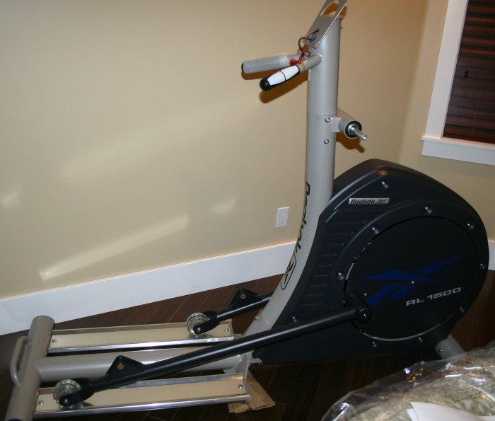 reebok elliptical. reebok rl-1500 assembly elliptical